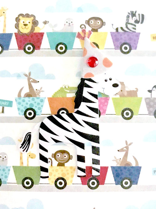 Animal Party Gift Card 122A/46 Assorted