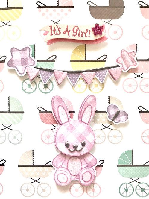 Baby Girl Bunny - 1237