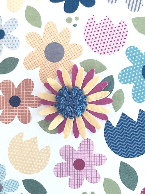 Perky Flower Gift Card - 143A/26