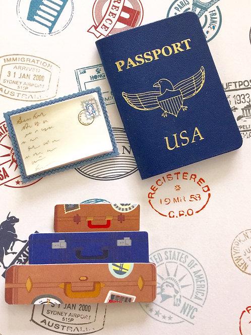 Passport and Luggage -1109