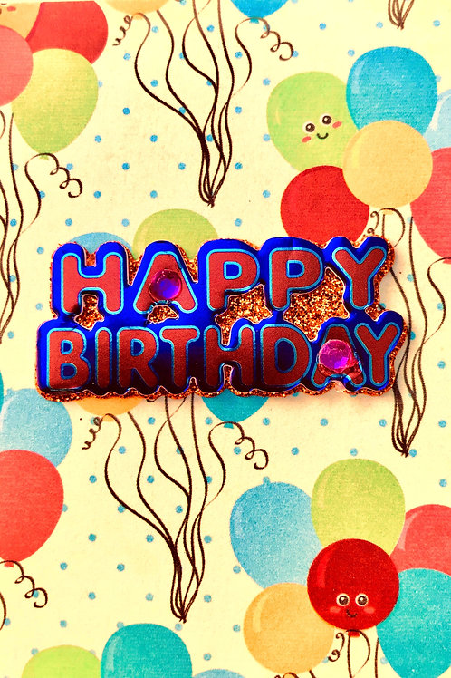Happy Birthday Gift Card - 122A/49