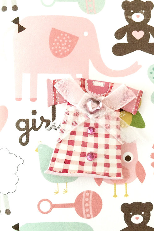 Baby Girl Dress Note Cards - NC32