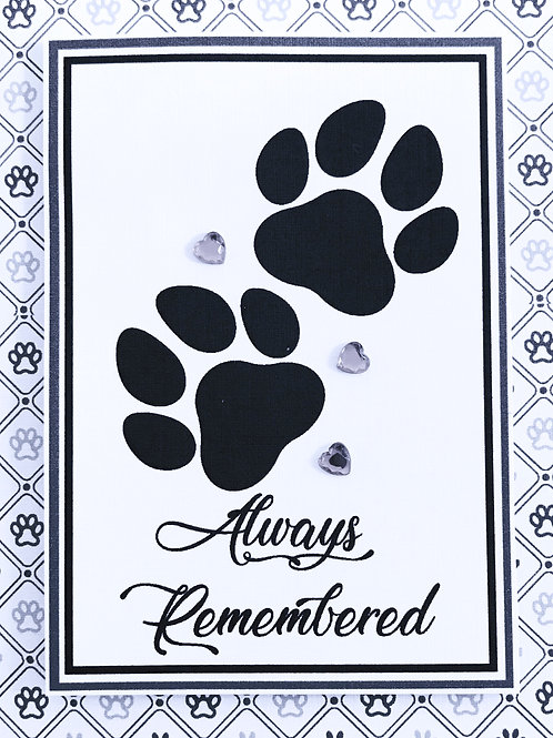 Always Remembered Pets -A108