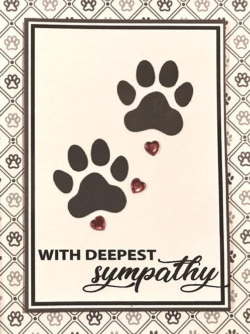 Pet Deepest Sympathy - A109