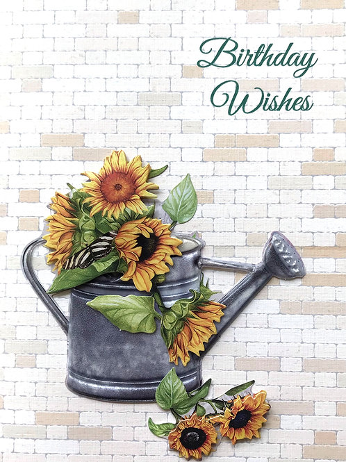 Birthday Watering Can - 1246