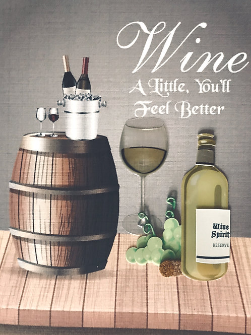 Wine A Little Note Cards - NC151