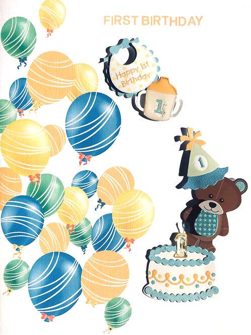 Baby 1st Birthday - 1431