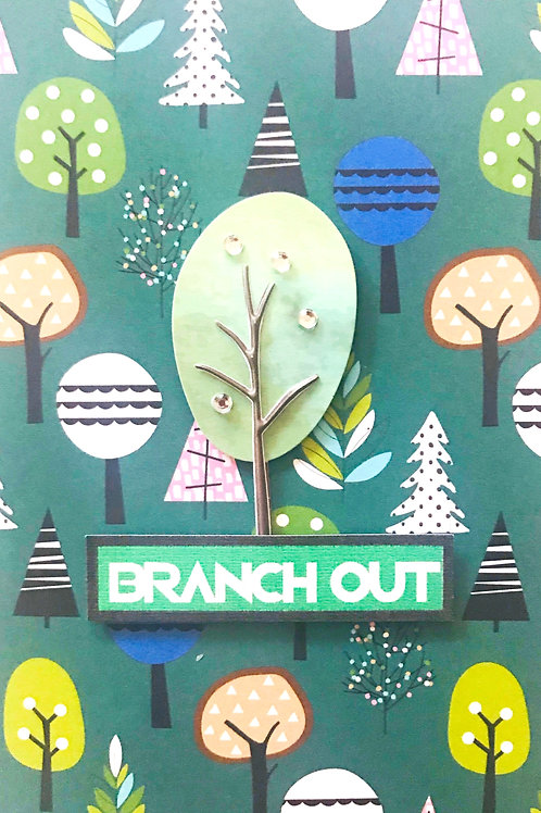 Branch Out Note Cards - NC137