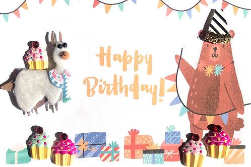 Birthday Llama - 1418