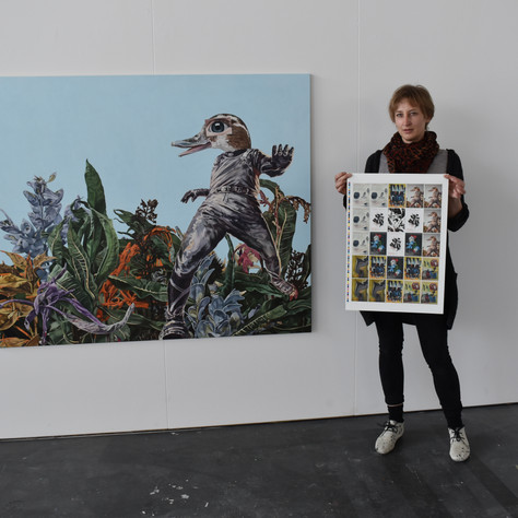 Künstler*innen des Kreativquartiers gestalten REGIOnalgeld-Serie 2021