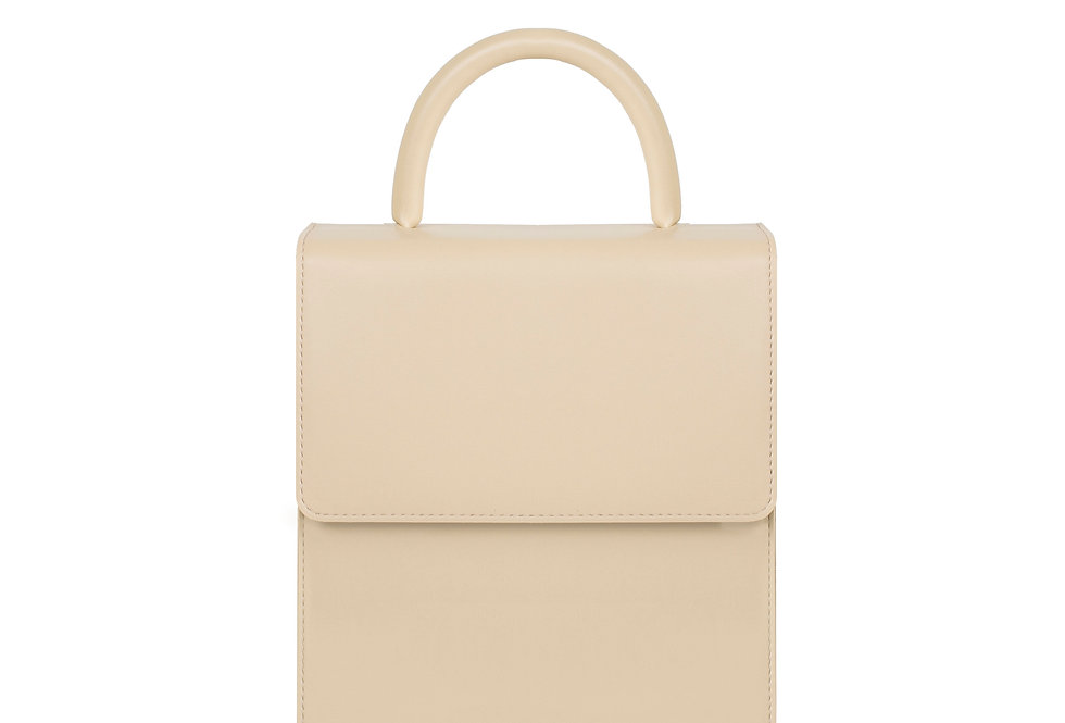 THE HANDLE BAG I BEIGE