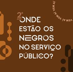Seguimos questionando: Onde estão os negros no serviço público?