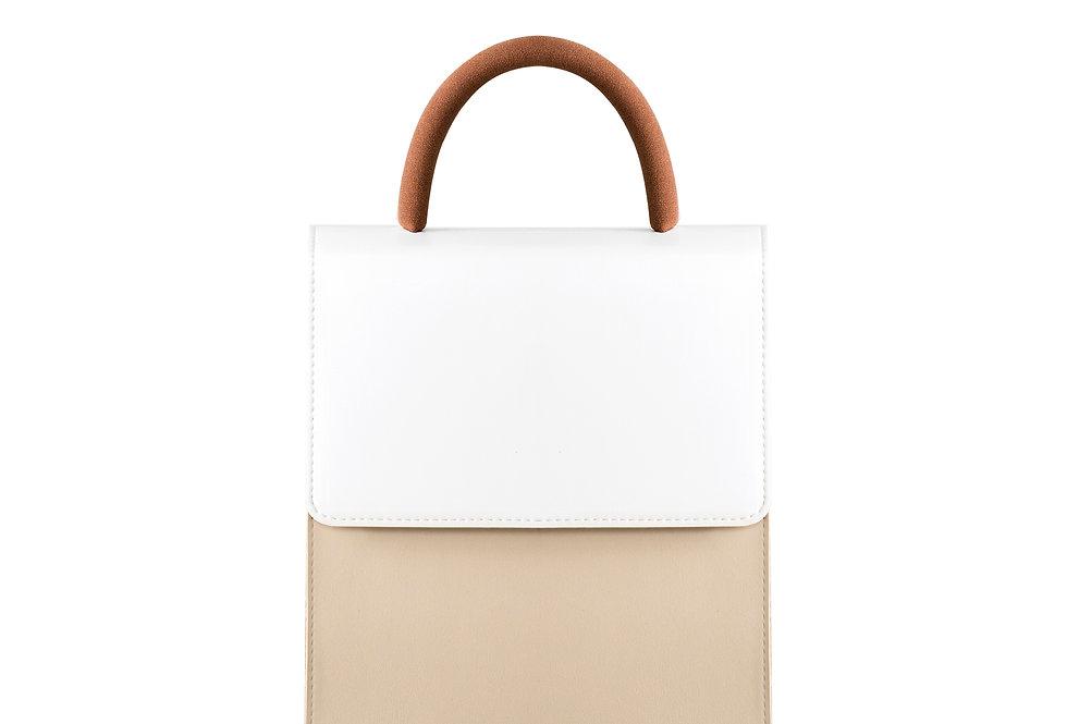 THE HANDLE BAG I COGNAC