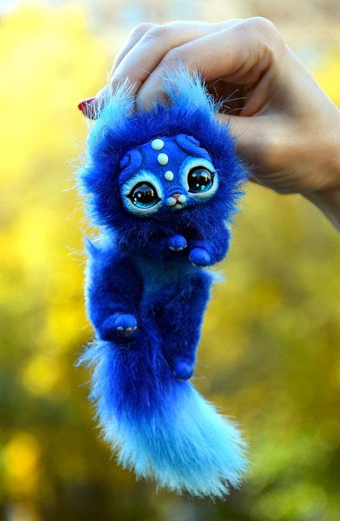 Small Blue Kitten