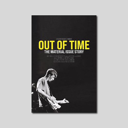 OUT OF TIME POSTER (24x36)