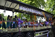 Footlights Dance School Float in Shrewsbury Carnival