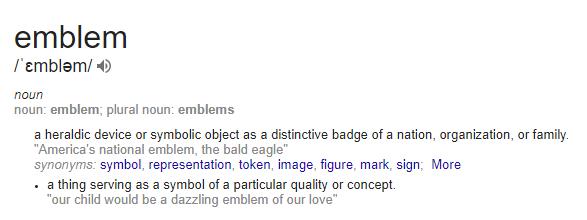 Definition of an Emblem