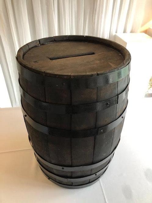 Whisky Barrel Money Box