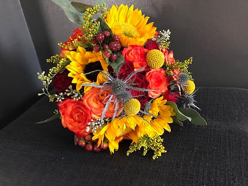 Fall Sunflower Bouquet