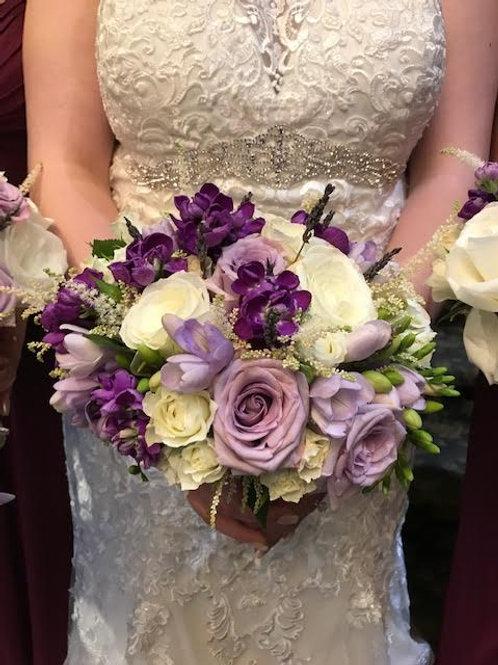Modern Lavender Purple Bouquet