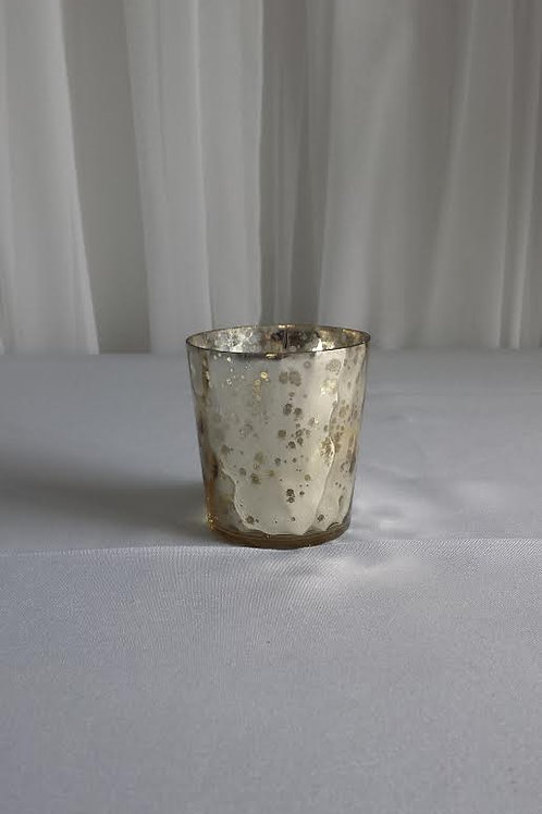 Votives - Gold Mercury Glass