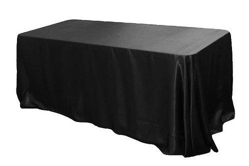 """90"""" x 156"""" Satin Tablecloths"""