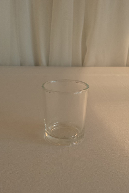 Votives - Clear Glass - Includes Candles