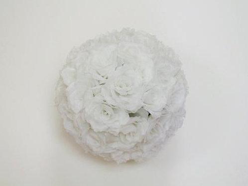 White Flower Balls - Medium