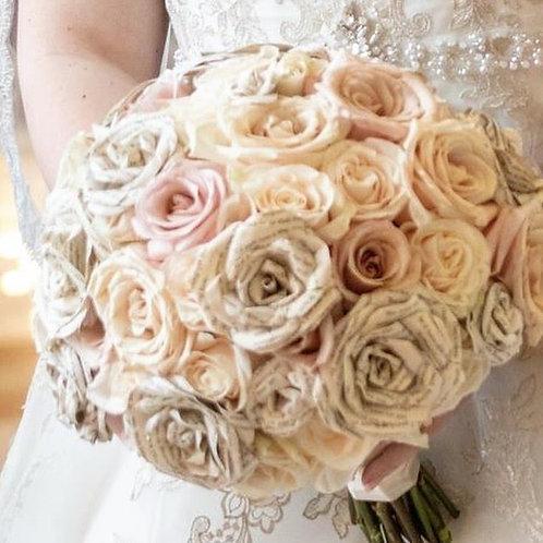 Rose Paper Bouquet - Bride