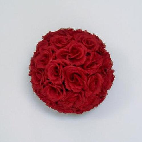 Red Flower Balls - Medium