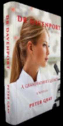 DR DAVENPORT Book Front & Spline View Hi