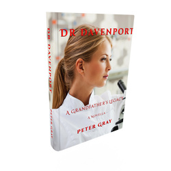 DR DAVENPORT 3D Book FACE View VHR