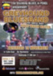 Blues in Pekel met Greyhond BluesBand