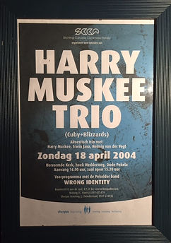 Harry Muskee Trio Blues in Pekel