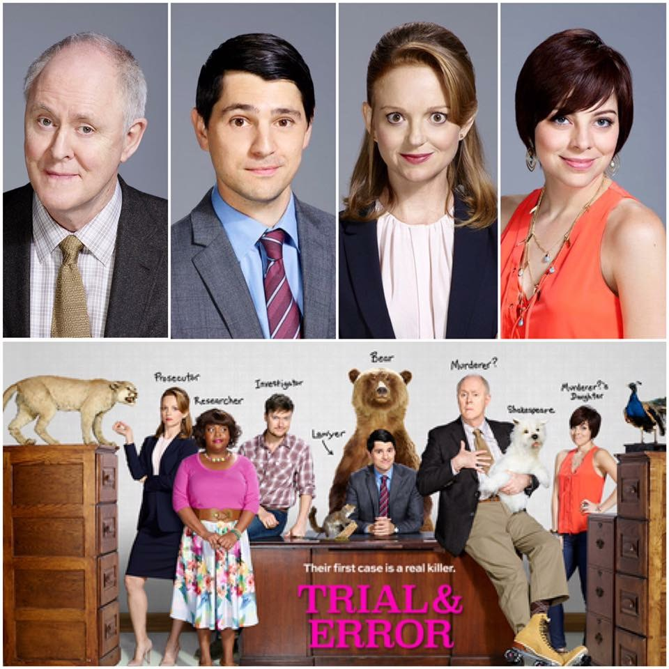 Trial & Error Cast