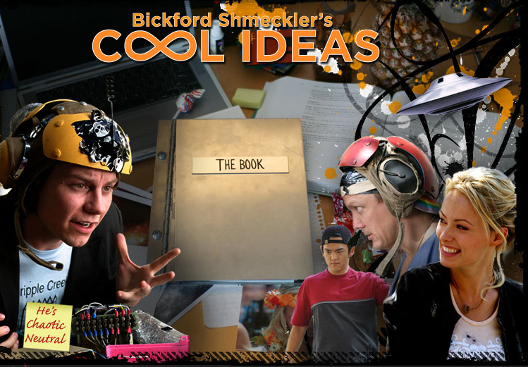 """BICKFORD SHMEKLER'S COOL IDEAS"""