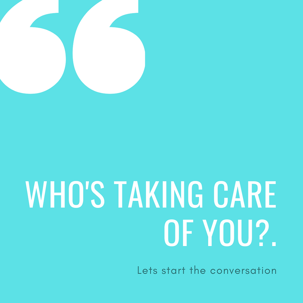 Who's taking care of you? (Mindful Assistant post)