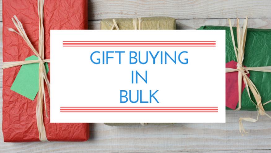 Gift buying in bulk