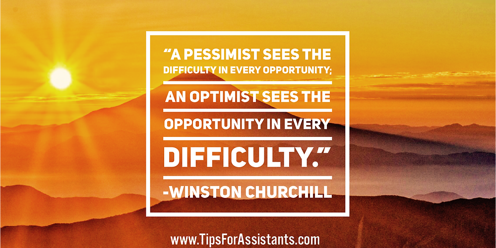 Quote about optimism