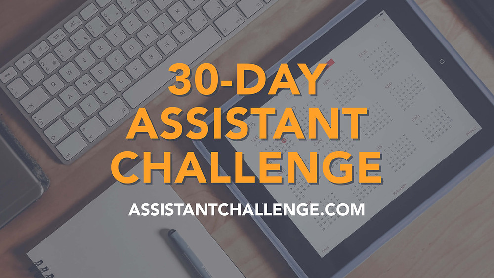 30-Day Assistant Challenge