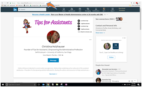 LinkedIn Recommendation How-To Step #1