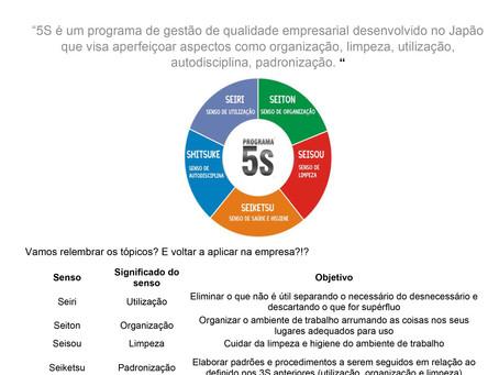 Boletim da qualidade - Programa 5S
