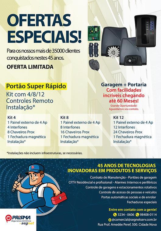 Panfleto 300X210 4x4 Verniz Localizado S