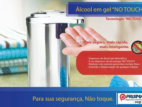 Você sabia que pode ser contaminado pelo dispenser de álcool em gel?