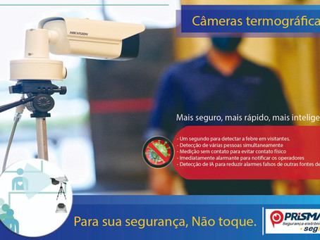 Você conhece as câmeras termográficas?
