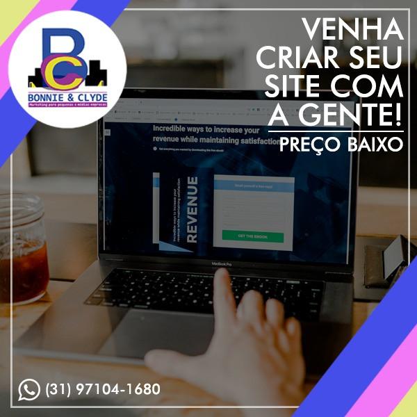 Criação de Sites a partir de R$100,00 mensais.