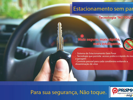 Sistema de estacionamento no-touch