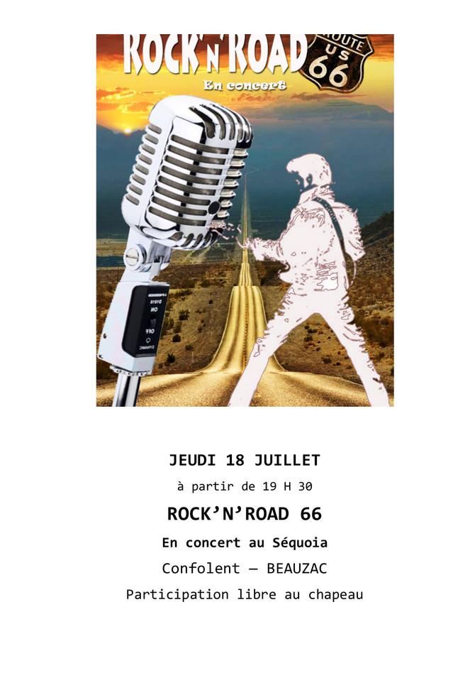 Rock'n'Road 66 en concert