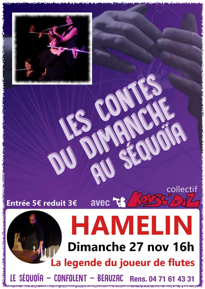 HAMELIN, la légende du joueur de flûte.
