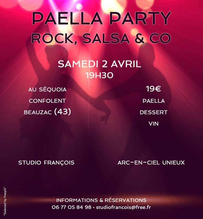 Paella Party au Séquoia samedi 2 avril 2016